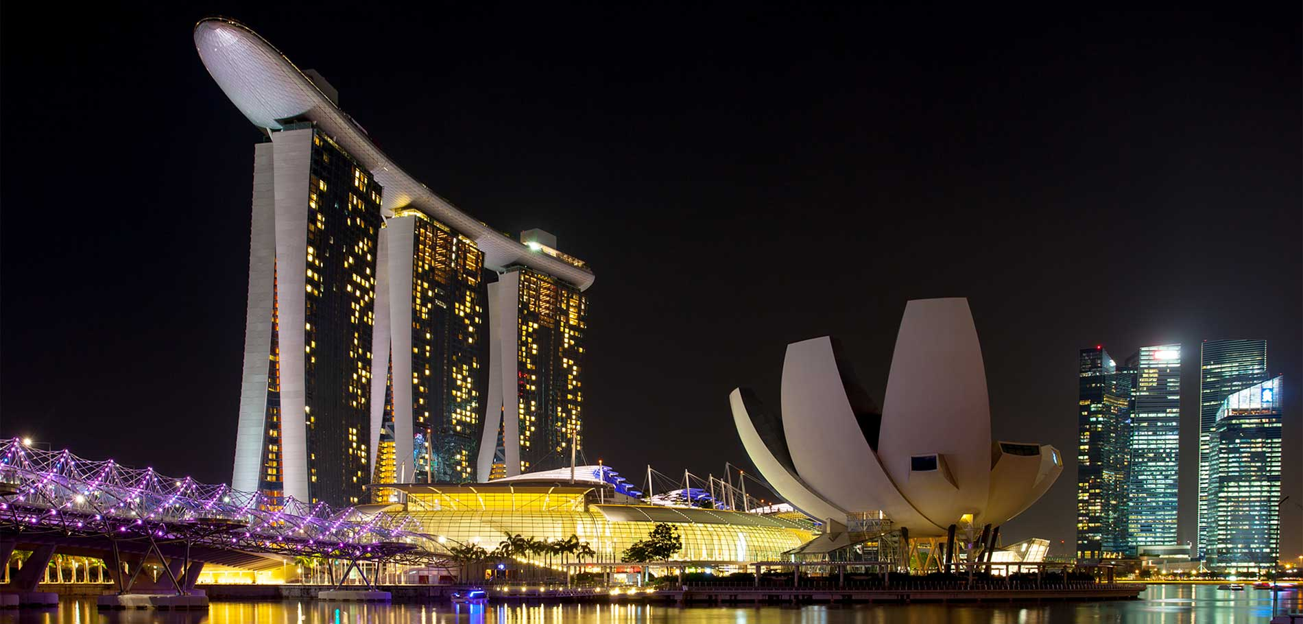 Singapore Marina Bay Scenery