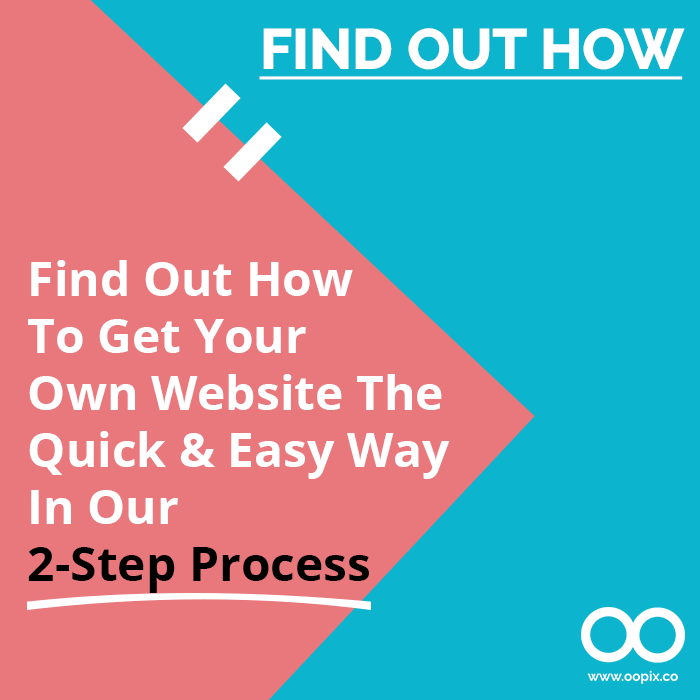 Find Out How To Get Your Own Website The Quick & Easy Way In Our 2-Step Process